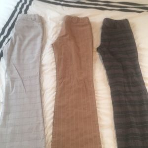 Pants - Three pairs of dress pants